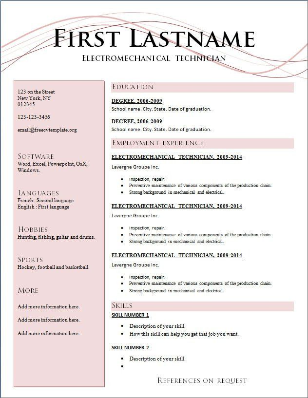 Common Resume Format 3 Resume Formats Which One Works For You - how to format resume