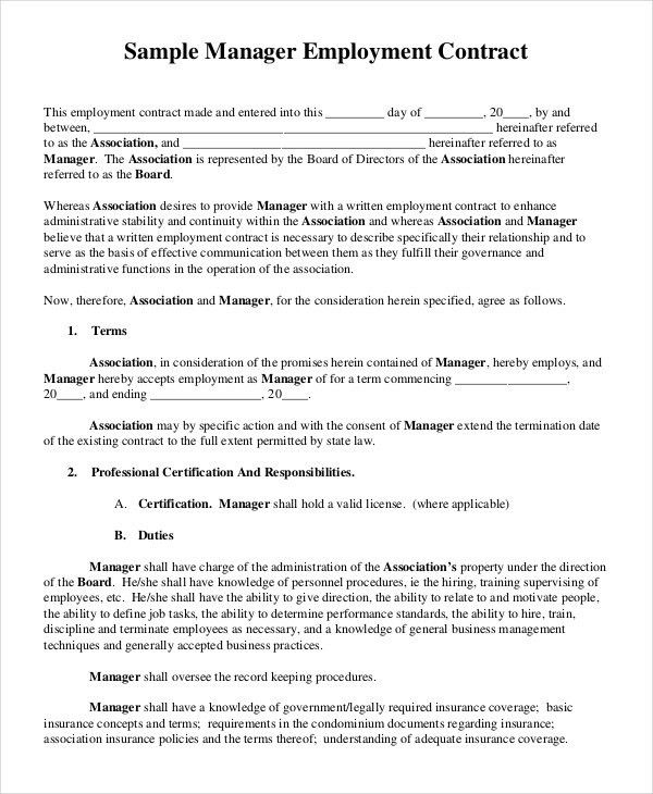 Sample Construction Contract Template Construction Contract - commission contract template