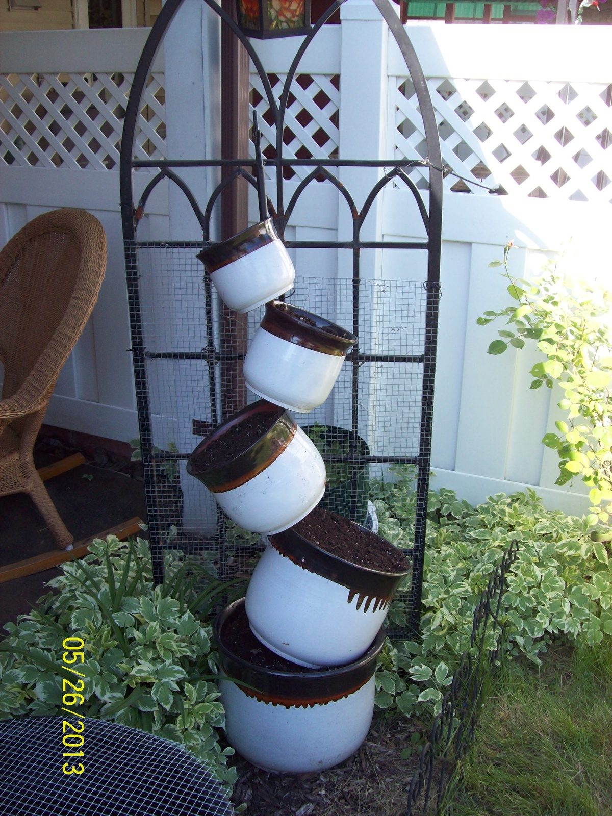 Topsy Turvy Planter Done By Shannon Bobannon