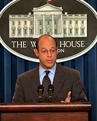 Lorelai references Ari Fleischer, who was the White House press secretary, during Friday night dinner.