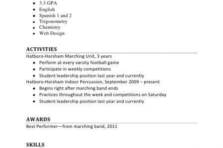 resume format first job first job resume template 19 resume resume for first job