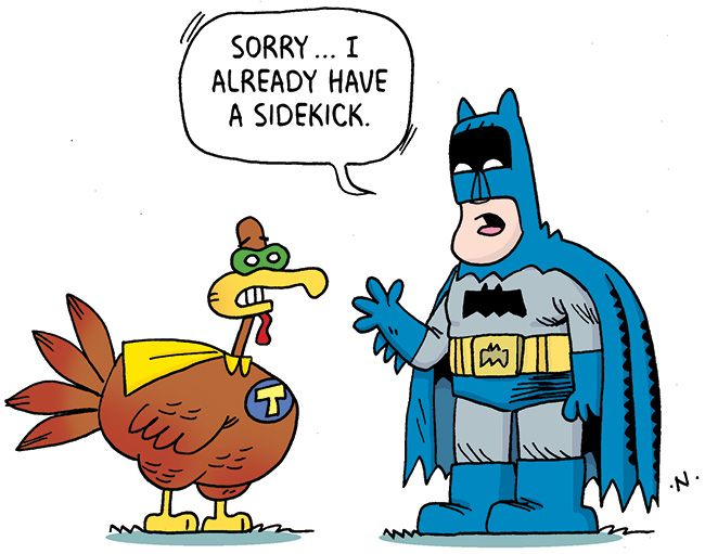 38 Funny Thanksgiving Day Jokes and Comics – Boys' Life magazine