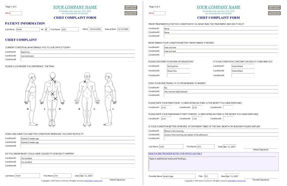 Sample Medical Certificate Format 21 Free Medical Certificate - free medical form