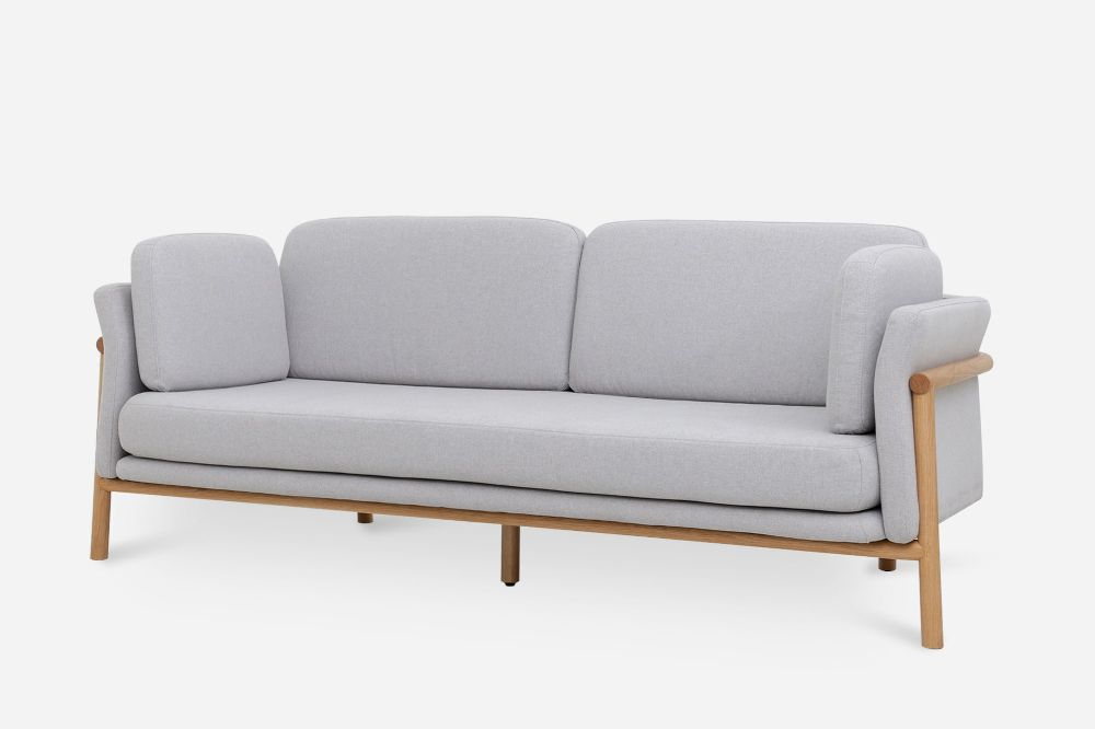 Bambu Sofa, Dove Gray   Castlery United States