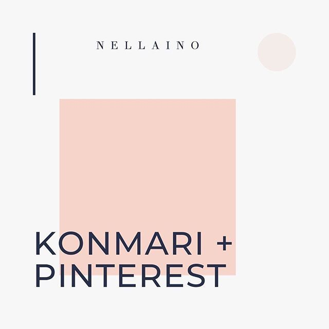 "Pinterest Strategist Marketer on Instagram: ""How on earth could the KonMari method help you with cle"