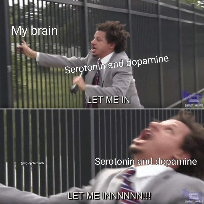 Mental health is no joke, but we can only hope that these memes can help cheer you up, even if just for a fleeting moment! #Memes #Health #MentalHealth #EricAndre #Depression #Anxiety