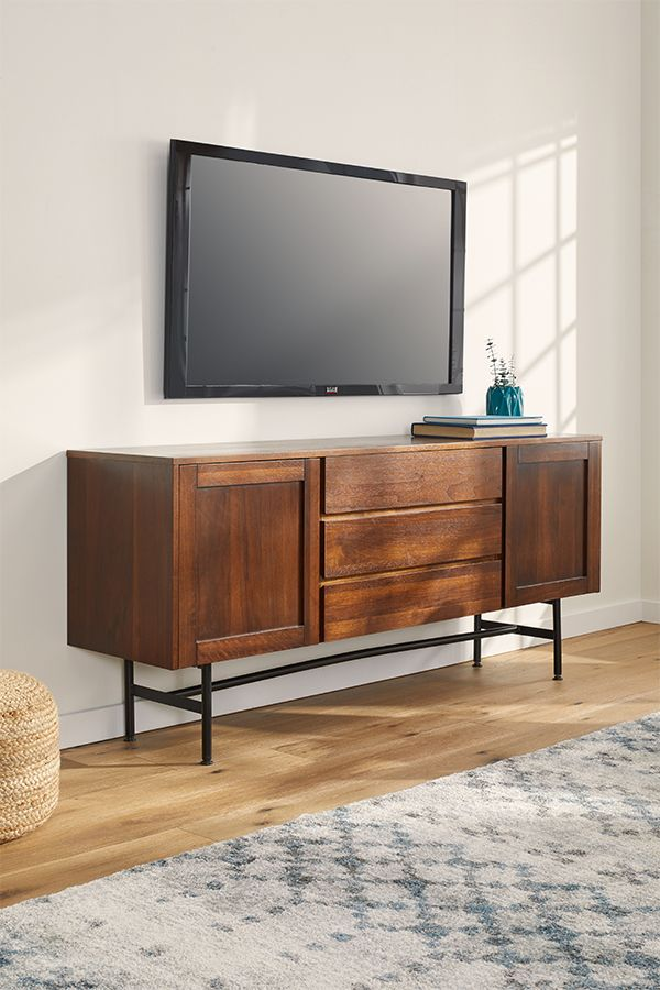Shop TV stands at Overstock and you'll find a a huge assortment of styles that complement your living room space with plenty of fresh function. #tvstand #livingroom #tv #furniture #homefurniture #home #furnishings #homeessentials #homegoods #woodenfurniture #tvcabinet #livingroomstorage #tvfurniture #televisionstand #homessentials #livingroomessentials #homegoods #overstock #stylishhome #homeideas