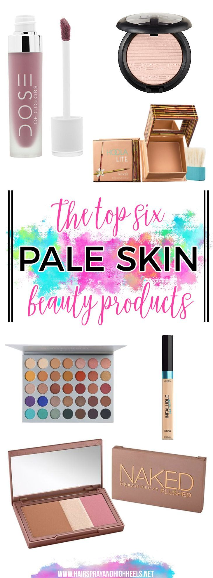 The TOP 6 Beauty Products for Pale Skin!!