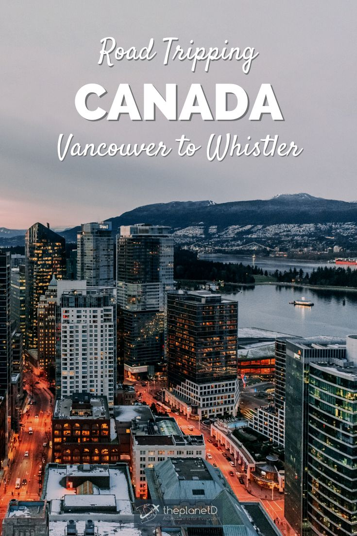 Sea to Sky Highway - Vancouver to Whistler Highlights