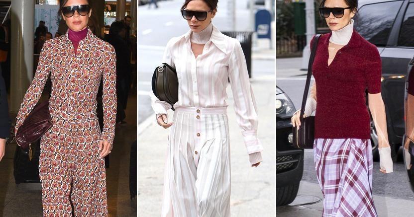 El truco de Victoria Beckham para no llevar abrigo (y sin pasar frío)