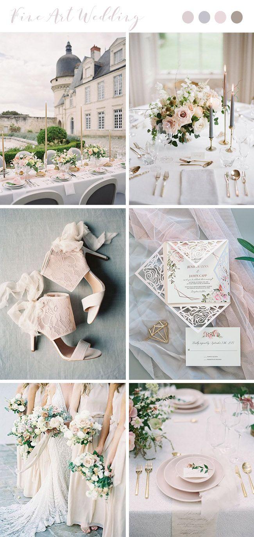 Trending-10 Gorgeous Wedding Colors for Fine Art Brides – Elegantweddinginvites.com Blog
