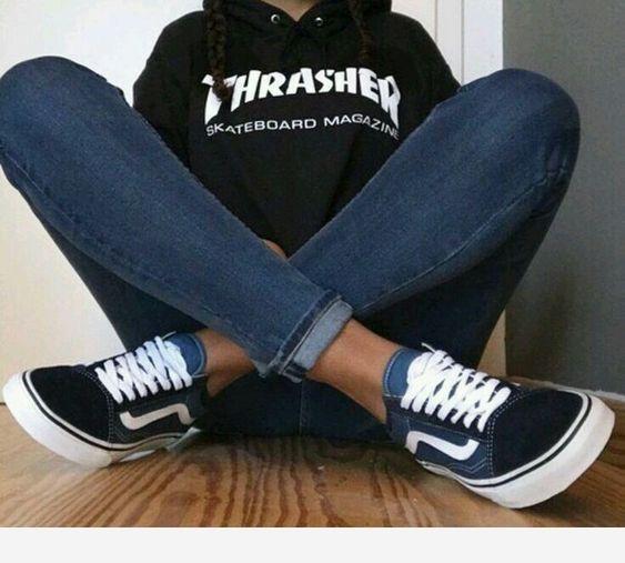Nice snekers jeans