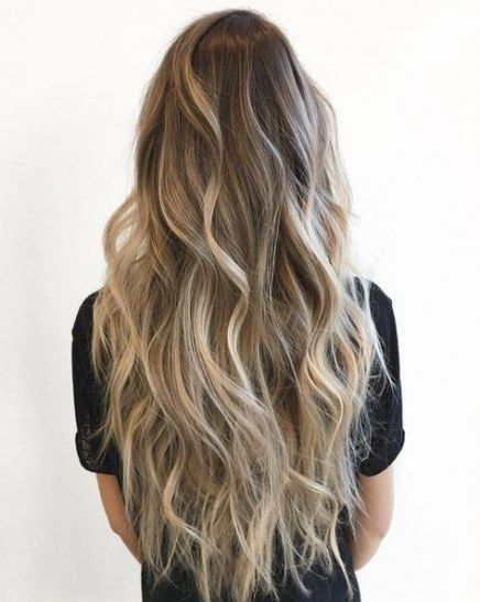 27+ Ideas hair blonde natural curls colour #hair