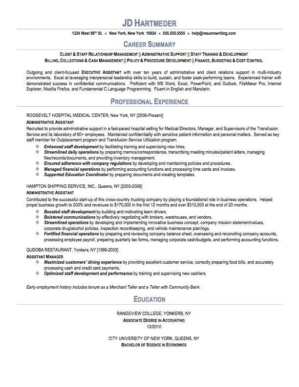 Resume Skills Summary Examples Resume Sample Hair Stylist