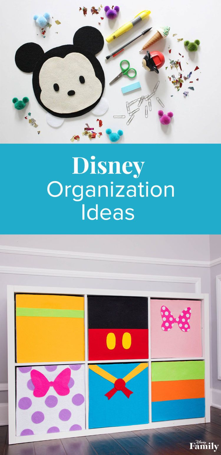 There are a number of ways to make spring cleaning fun—and filled with a hint of Disney magic! From no-sew rope baskets that hold all of your gadgets and gizmos to a DIY drawer set inspired by Mickey & Friends, we have something the whole family can help create! Click for Disney organization ideas.