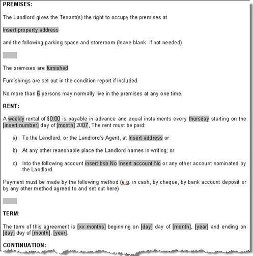 Free Commercial Lease Agreement Forms To Print Free Commercial - printable lease agreement sample