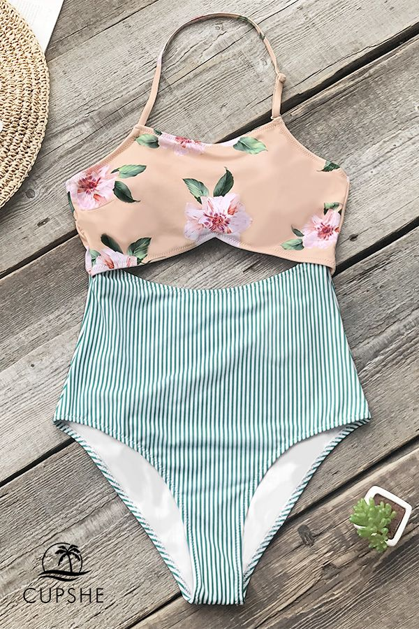 Made for a perfect day at the beach. #CUPSHE #swimwear #holiday #beach