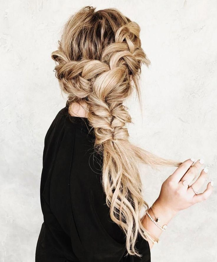 beautiful braid #curlyeasyhairstyles