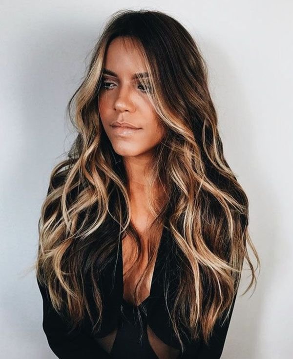 Hair Colors Ideas & Trends for the Long Hairstyle Winter 2018-2019