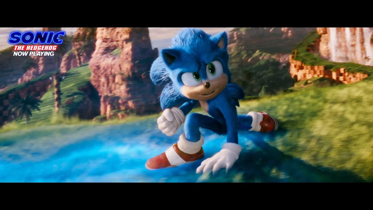 Sonic the Hedgehog - In theatres now