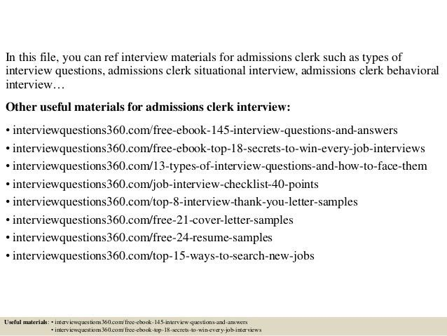 Superior ... Professional Nursing Unit Clerk Templates To Showcase Your Talent   Reconsignment  Clerk Cover Letter ...