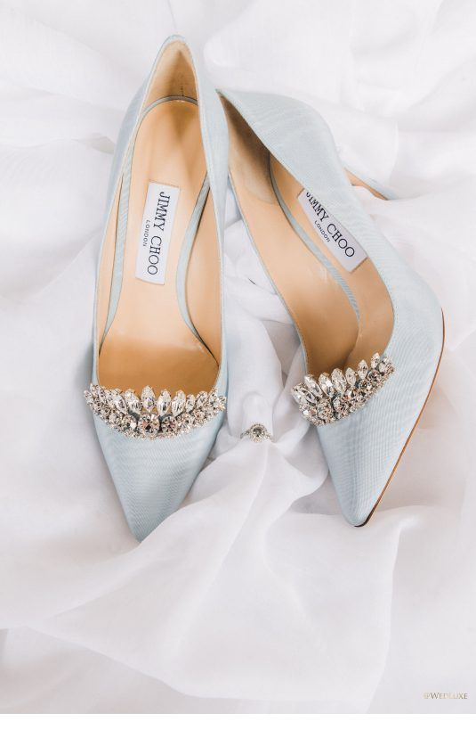 Chic light blue shoes