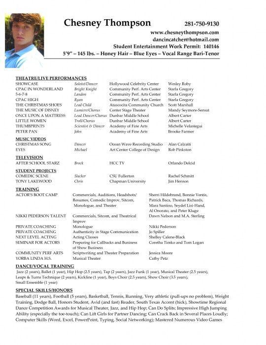 sample actor resume best 25 acting resume template ideas on entertainment resume template - Entertainment Resume Template