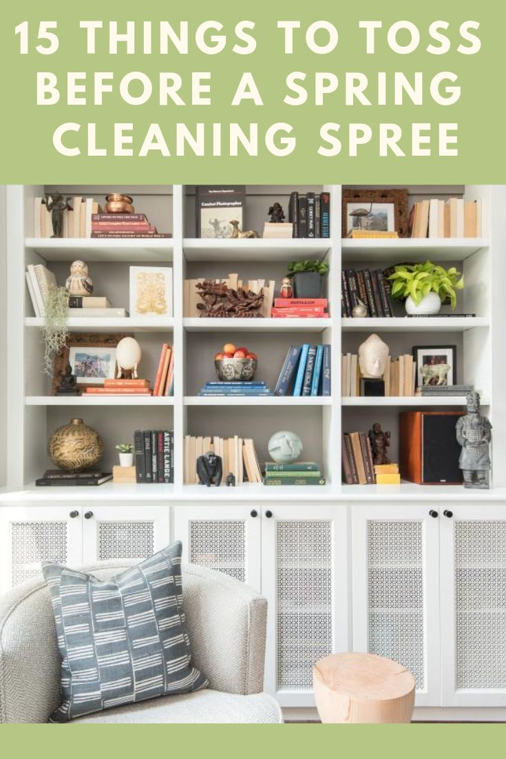 15 Things to Toss Before Spring Cleaning