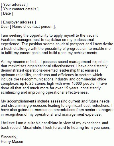 Aquatic Manager Cover Letter