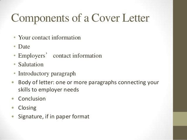 what should my cover letter say what do you say in a cover letter