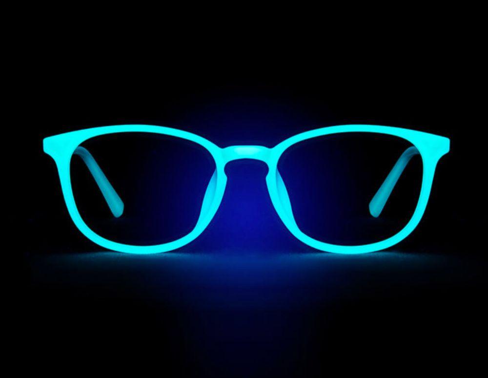 These Eyeglass Frames Glow in the Dark