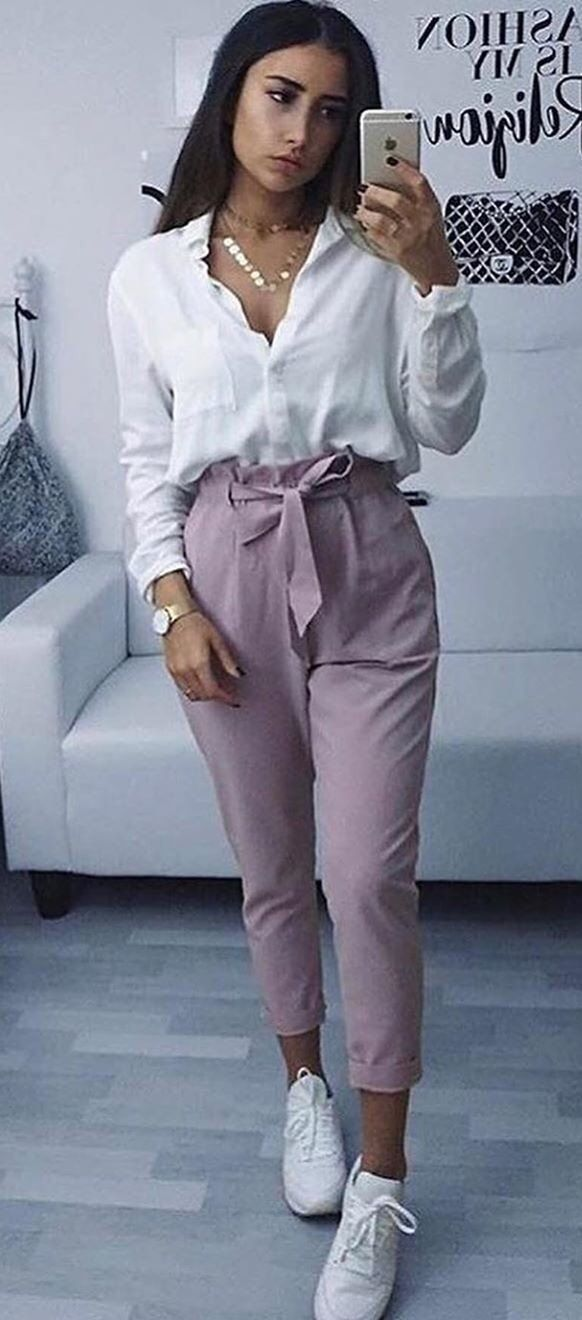 pink pants #summer #outfits