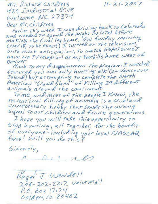 Handwritten Cover Letter Samples The
