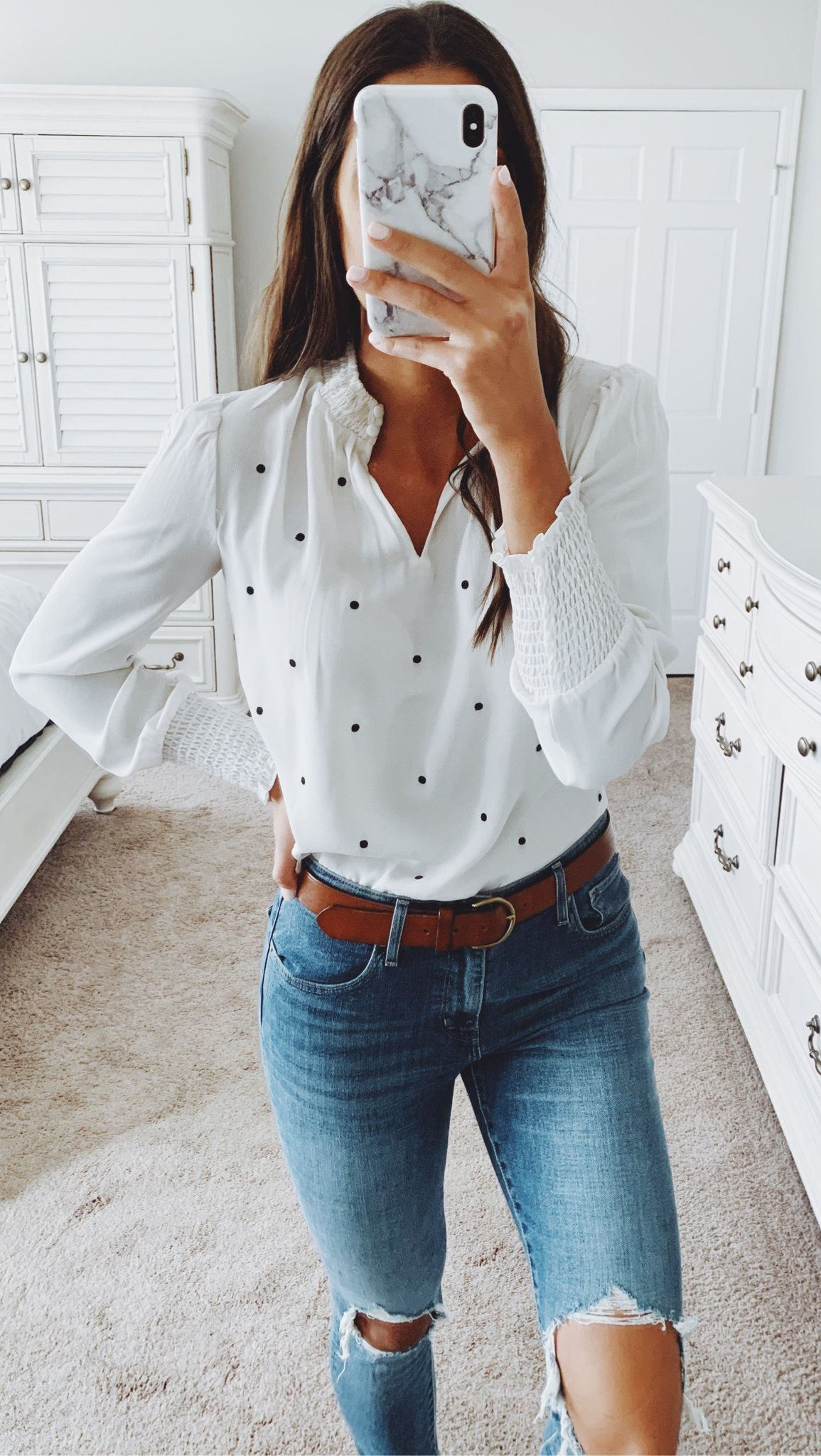 white and black dress shirt #winter #outfits