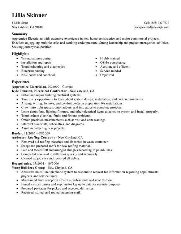 carpenter apprentice sample resume cvresumeunicloudpl carpenter sample resume - Carpenter Apprentice Sample Resume
