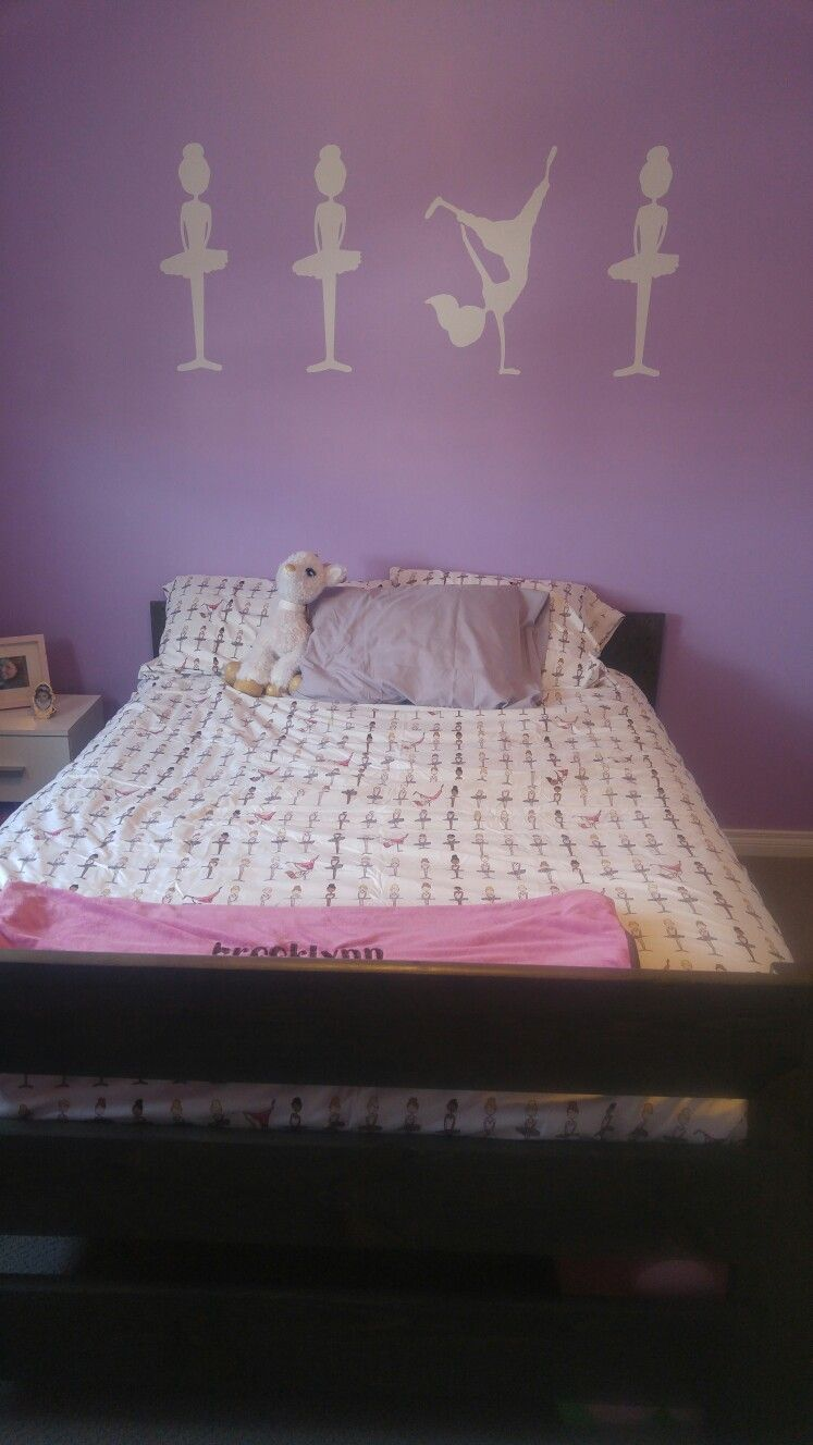 Ballet and hip hop bedroom   Dance bedroom, Toddler bed ...
