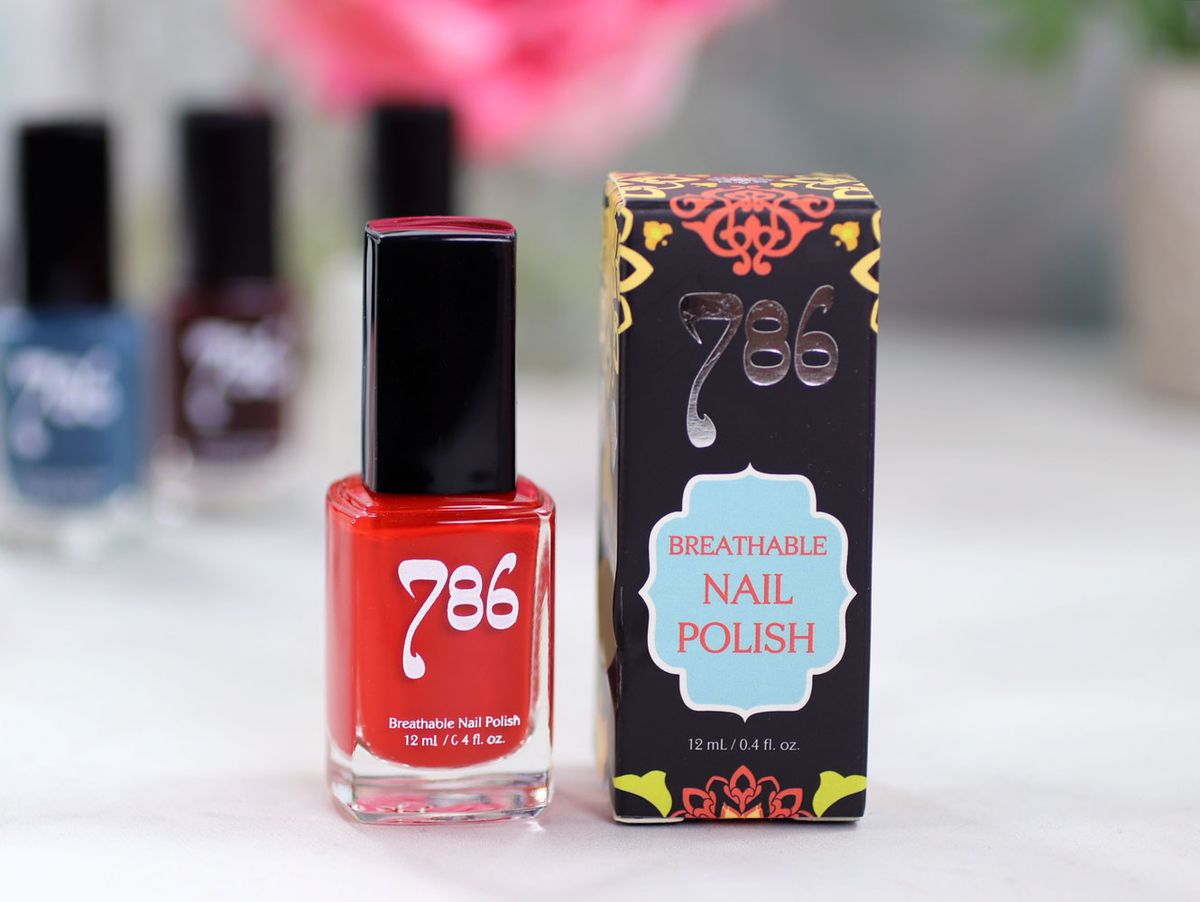 AD 786 Cosmetics Breathable Cruelty Free and Vegan Nail Polish Review and Swatches – Marrakech #nails #halal #nailpolish #crueltyfree