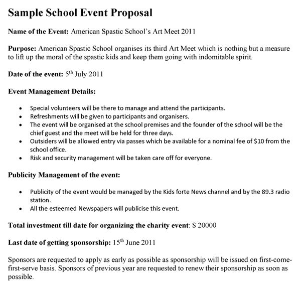 Event Proposals Samples Event Proposal Template 12 Free Word - event proposal template