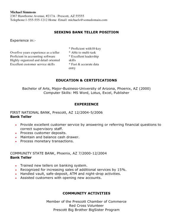 sample teller resume 8 sample teller resume azzurra apple