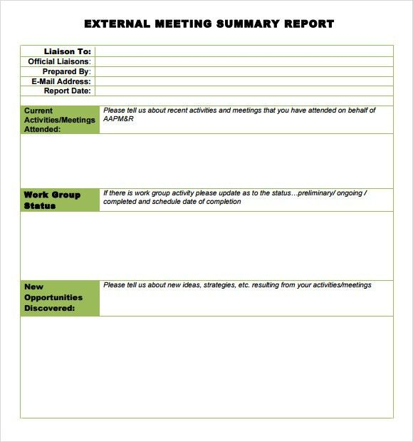 Executive Summary Report Template 31 Executive Summary Templates - business summary template