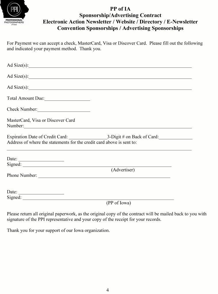 event sponsorship agreement template | resume-template.paasprovider.com