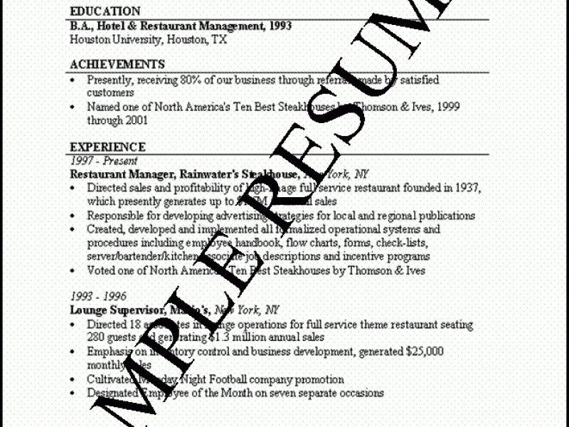 everest optimal resume