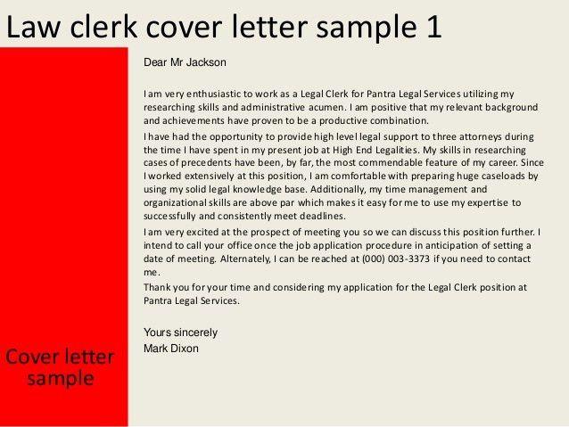 Legal Records Clerk Cover Letter Cvresumeunicloudpl
