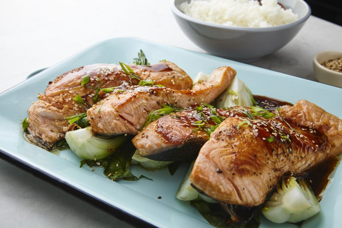 Class of the Day: Salmon Teriyaki from Jet Tila