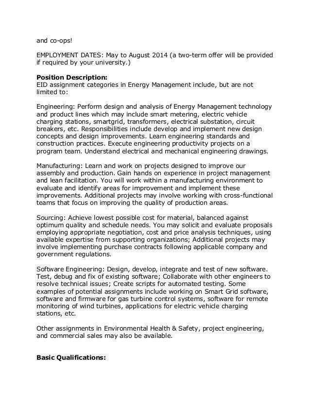 Manufacturing Engineering Job Description Download Production - project engineer job description