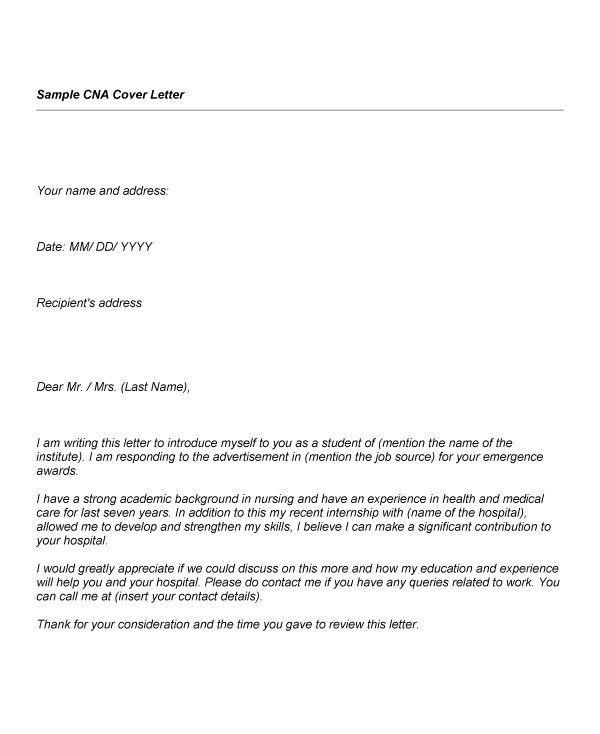 nursing aide cover letter | env-1198748-resume.cloud ...
