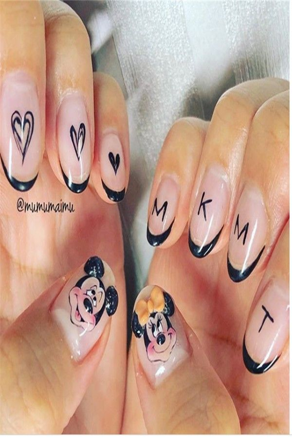 30+ Gorgeous Disney Nails to Spice Up Your Fashion – Fashonails