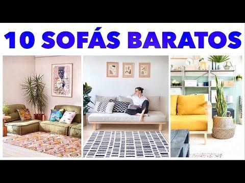 10 Sofás Baratos e Fáceis de Fazer - YouTube