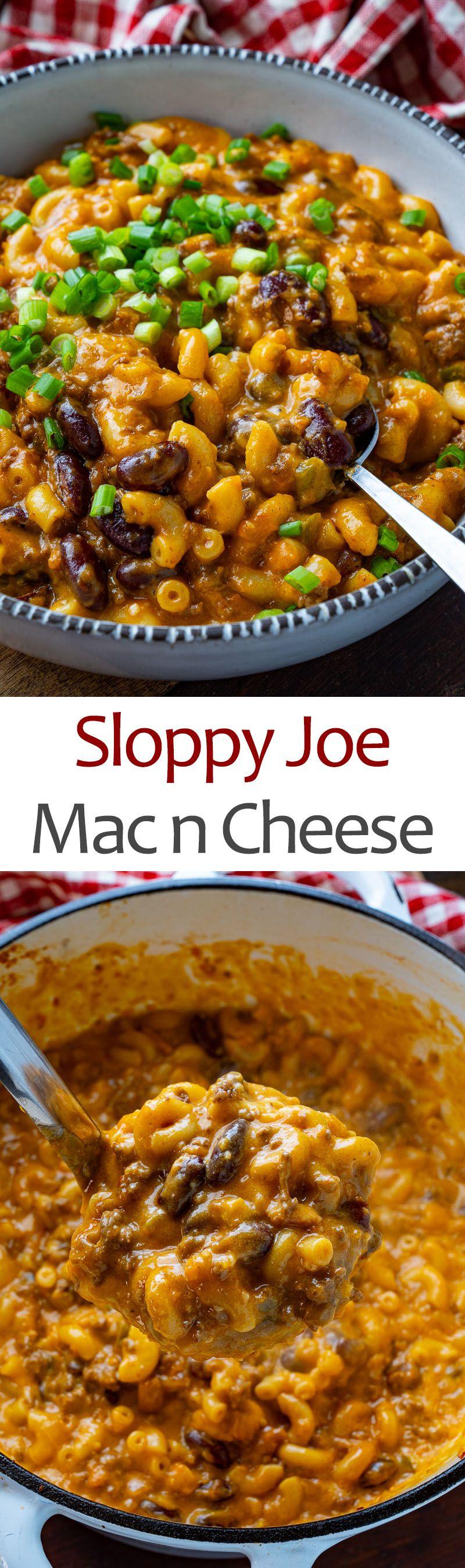 Sloppy Joe Mac n Cheese