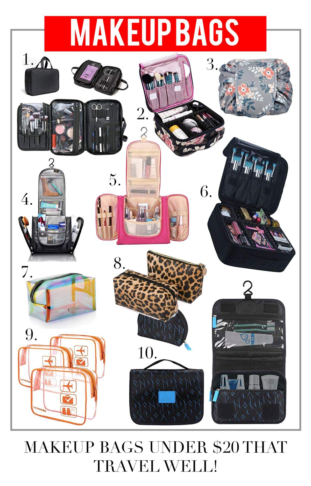 The BEST Makeup Bags under $20!